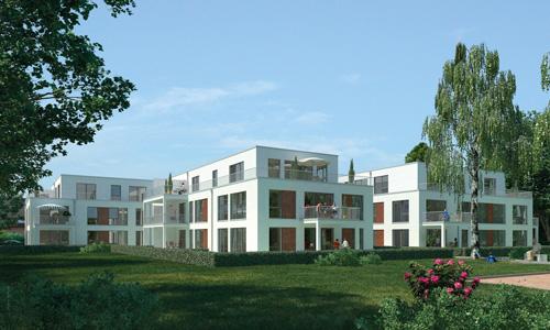 Seniorengerechte Wohnanlage in Bonn, 8,95 Millionen Euro Investitionsvolumen.