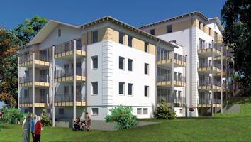 Seniorenwohnen in Velbert, 6,85 Millionen Euro Investitionsvolumen.