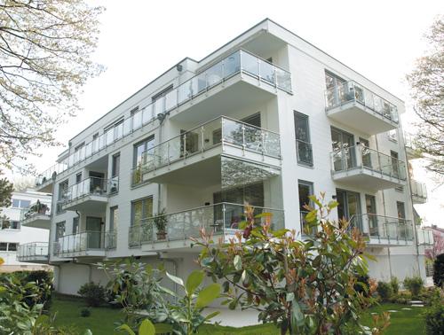 Exklusive Eigentumswohnungen in Bonn, 5,2 Millionen Euro Investitionsvolumen.